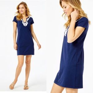 Lilly Pulitzer Navy Brewster T-Shirt Dress